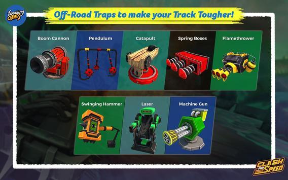 Clash for Speed – Xtreme Combat Car Racing Game تصوير الشاشة 23