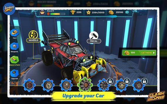 Clash for Speed – Xtreme Combat Car Racing Game تصوير الشاشة 4