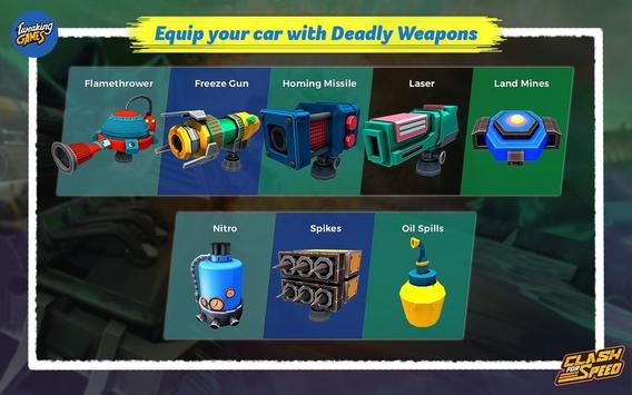 Clash for Speed – Xtreme Combat Car Racing Game تصوير الشاشة 6