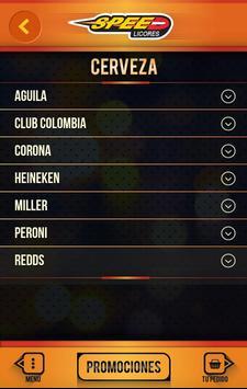 Speed Licores screenshot 3