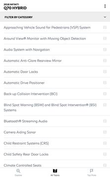 Infiniti Quick Guide apk screenshot
