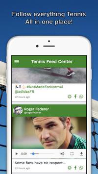 Tennis Feed Center - ATP WTA poster