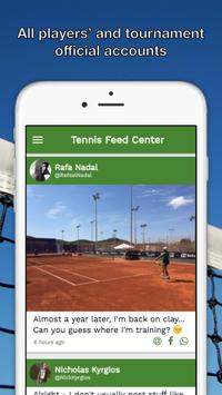 Tennis Feed Center - ATP WTA screenshot 1