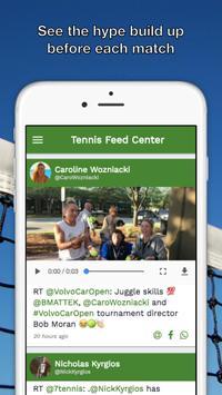Tennis Feed Center - ATP WTA screenshot 2