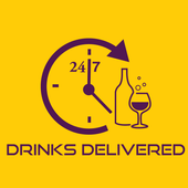 Drinks Delivered 24 7 icon