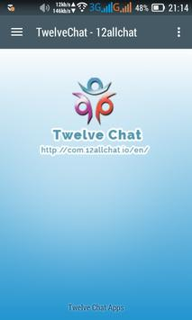 Twelve Chat 12allchat poster
