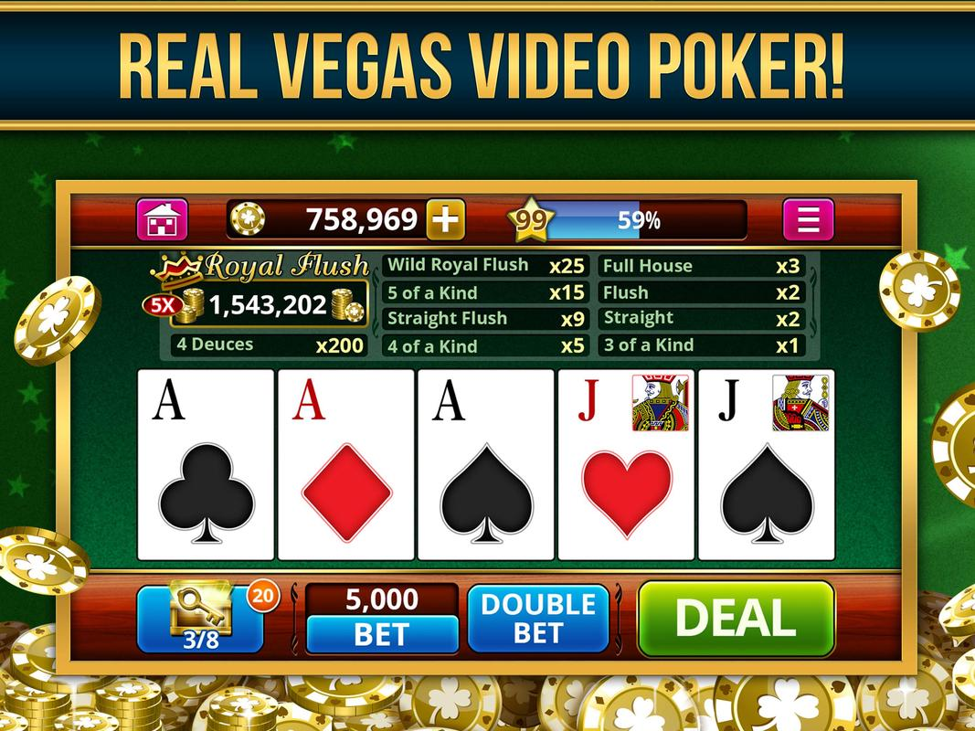 play casino video poker for free