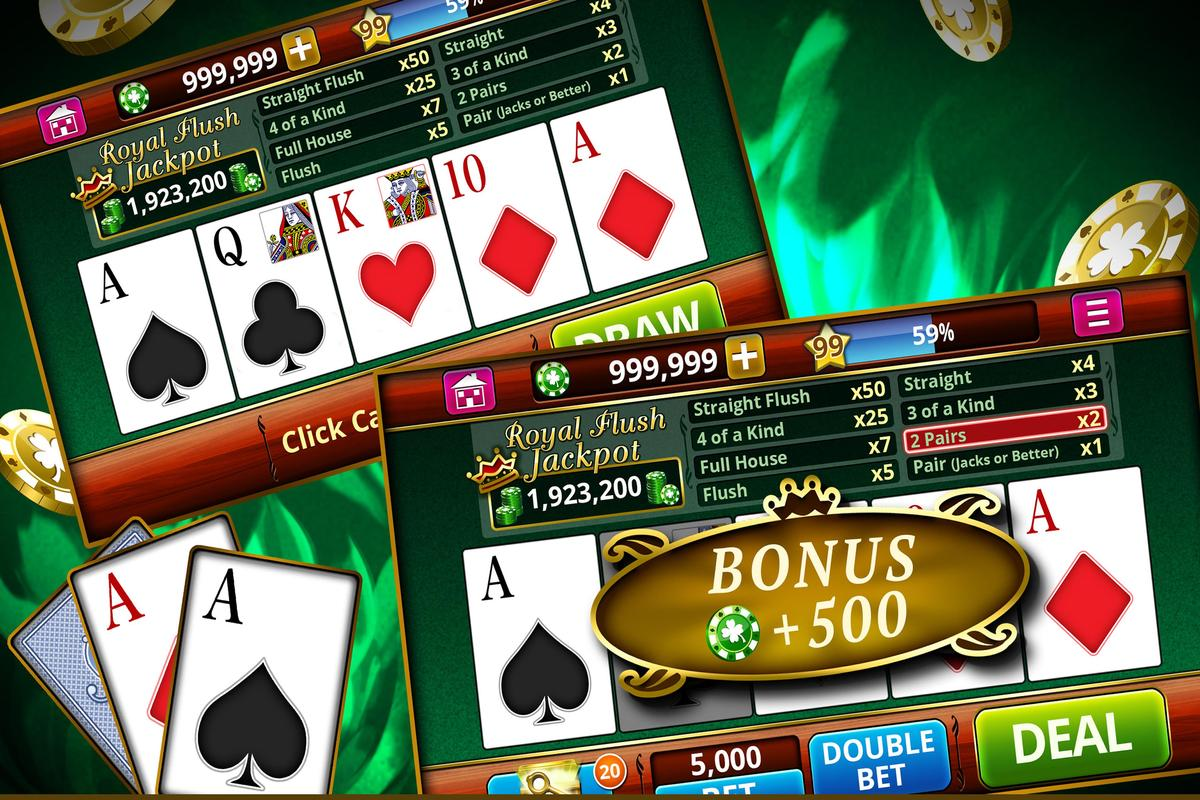 VIDEO POKER OFFLINE FREE! APK Download - Free Casino GAME