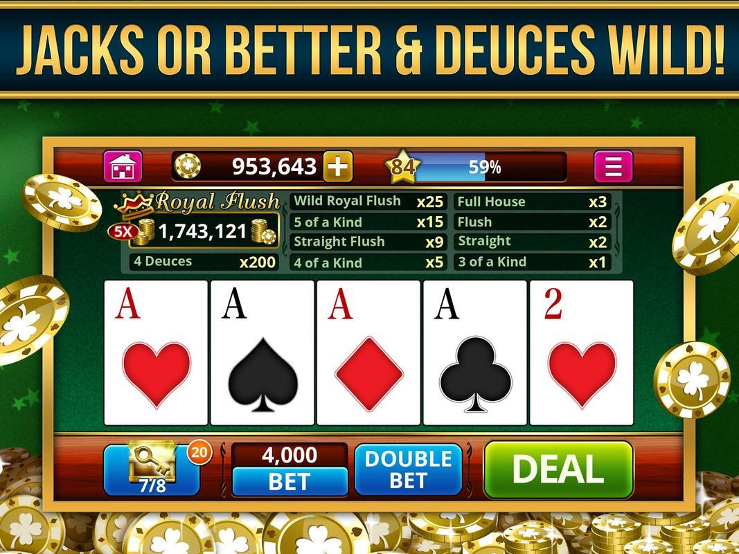 VIDEO POKER OFFLINE FREE! APK Download - Free Casino GAME
