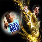 Michal Jackson photo frame icon