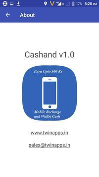 Cashand - Earn 300Rs Free Recharge apk screenshot