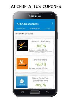 ARCA Descuentos apk screenshot