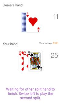 Blackjack 21 screenshot 4