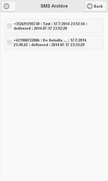 GoSMS-sender apk screenshot