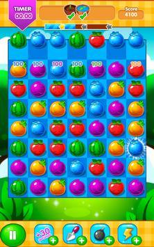 Fruit Farm - Link and Pop Funny Fruits Match 3 screenshot 4