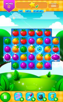 Fruit Farm - Link and Pop Funny Fruits Match 3 poster