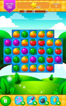 Fruit Farm - Link and Pop Funny Fruits Match 3 screenshot 13
