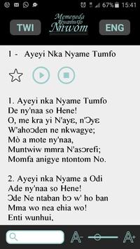 Twi SDA Hymnal with Audio apk screenshot