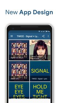 TWICE - Signal + Lyrics poster