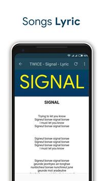 TWICE - Signal + Lyrics screenshot 2