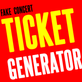 Fake Concert Ticket Generator & Ticket Maker APK Download - Free Art ...