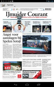 IJmuider Courant digikrant poster