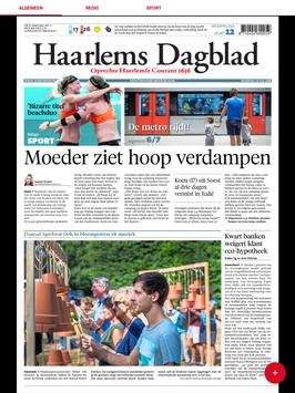Haarlems Dagblad digikrant apk screenshot