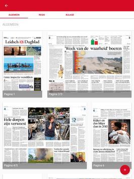Leidsch Dagblad digikrant screenshot 12
