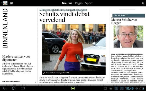 Leidsch Dagblad digikrant apk screenshot