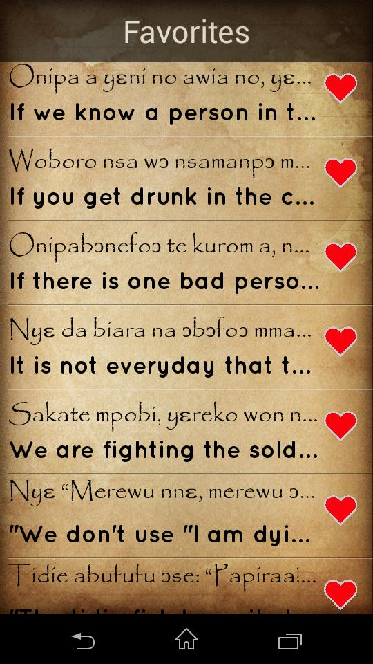Twi Proverbs : ghana proverbs for Android - APK Download