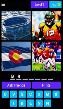 4 Pics 1 Word : Sports poster