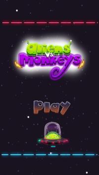 Alien vs Monkey poster