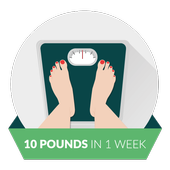 How to lose weight icon