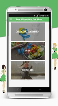 How to lose weight apk screenshot