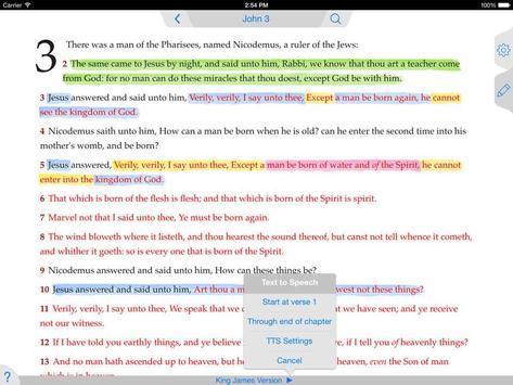 NASB Bible App screenshot 2