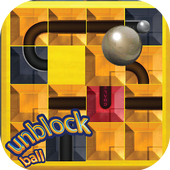 unblock u ball : side way out puzzle icon