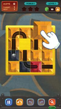 unblock u ball : side way out puzzle screenshot 1