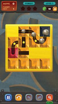 unblock u ball : side way out puzzle screenshot 2