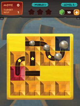 unblock u ball : side way out puzzle screenshot 7