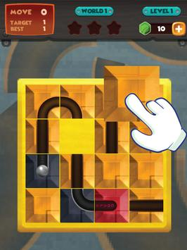 unblock u ball : side way out puzzle screenshot 6