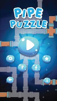 pipe repair connect : fix plumber puzzle poster