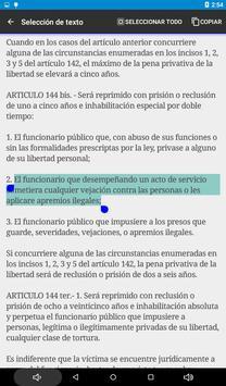 Código Penal de Argentina screenshot 14