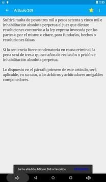 Código Penal de Argentina screenshot 12