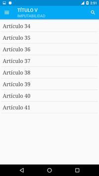 Código Penal de Argentina screenshot 3