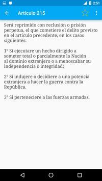 Código Penal de Argentina screenshot 5