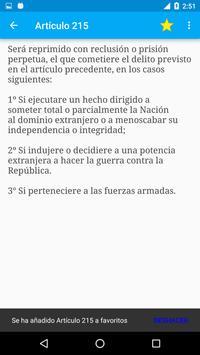 Código Penal de Argentina screenshot 6