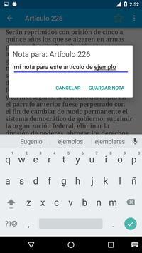 Código Penal de Argentina screenshot 7