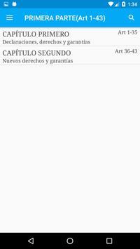 Constitución de Argentina screenshot 1