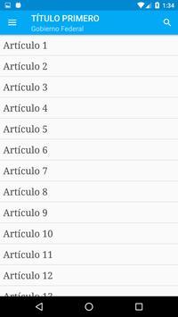 Constitución de Argentina screenshot 2