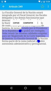 Constitución de Colombia screenshot 7